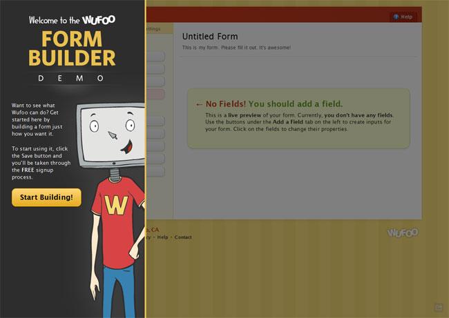 Wufoo User Flows