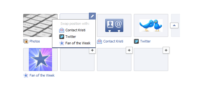 new facebook pages app positions