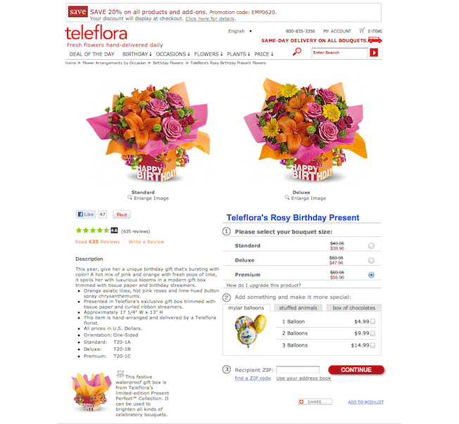 Teleflora-specific-landing-page