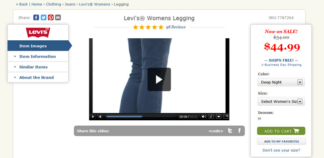 zappos product video