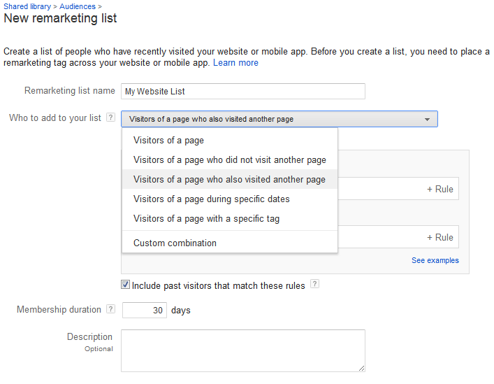 Google Remarketing Image Segmentation