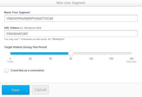 Adroll advanced segmentation