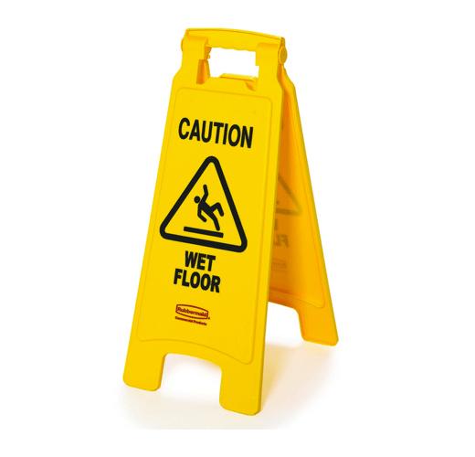 10 caution wet floor