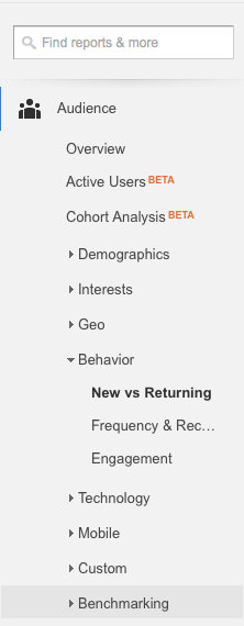 New-vs-Returning-User-google-analytics