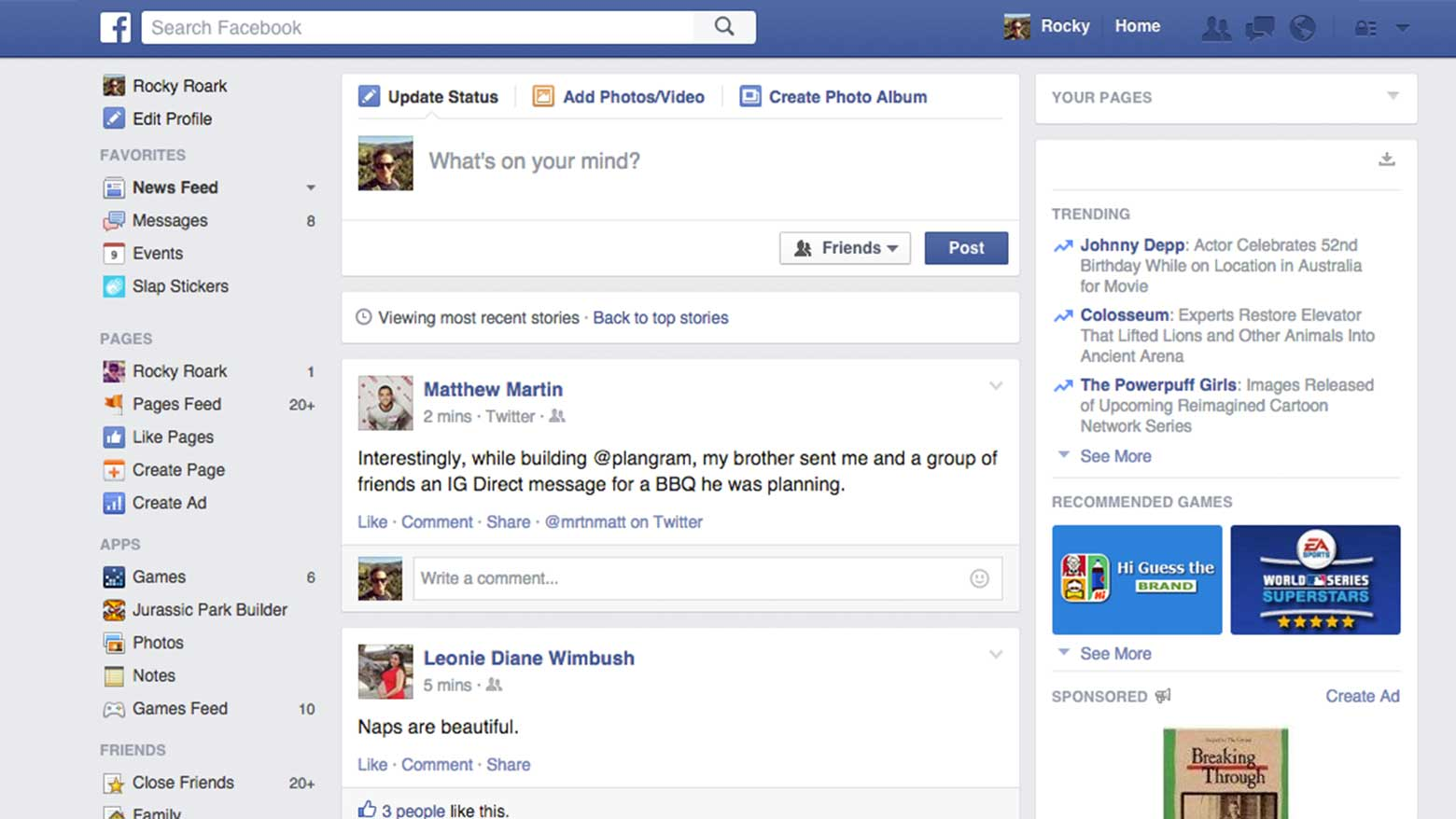 facebook-timeline-screenshot