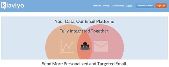 klaviyo-homepage-screenshot