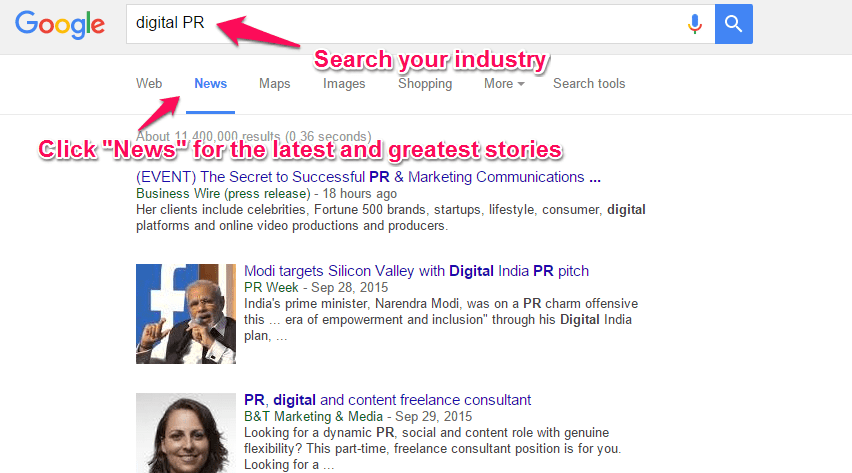 Google-News-digital-pr-search