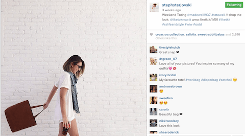 influencer-marketing-madewell-instagram