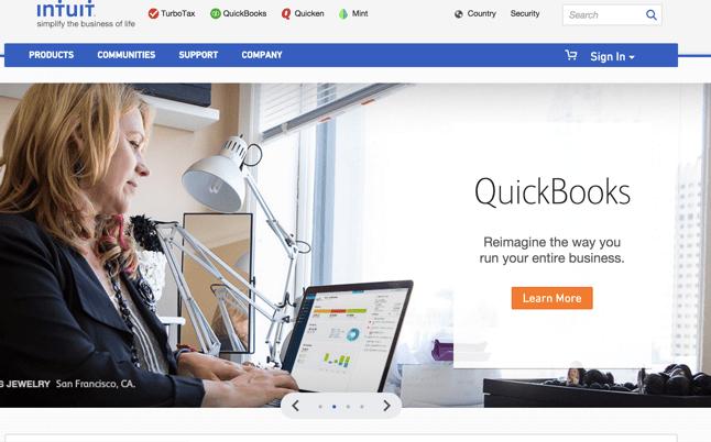 intuit-homepage