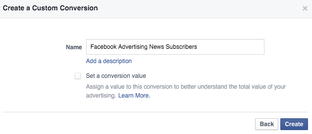 custom-conversion-facebook-advertising