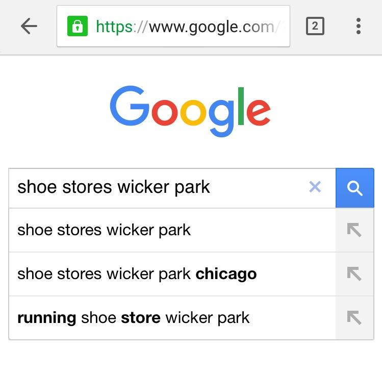 google-local-search-keywords