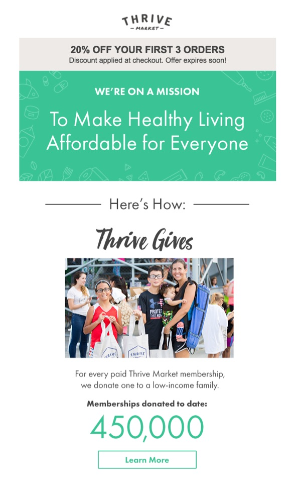 thrive market email