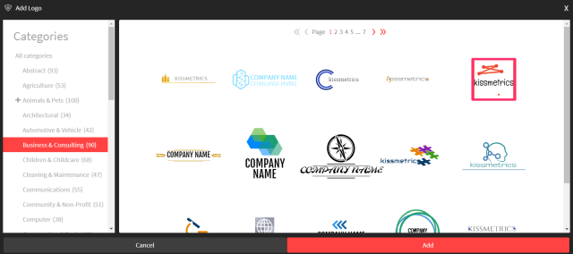 business and consulting logos