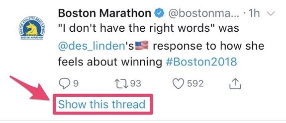 boston marathon twitter thread