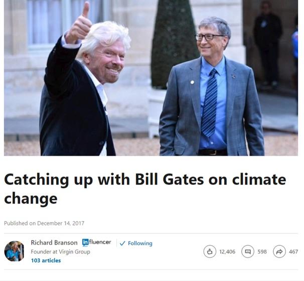 richard branson bill gates climate change article on linkedin