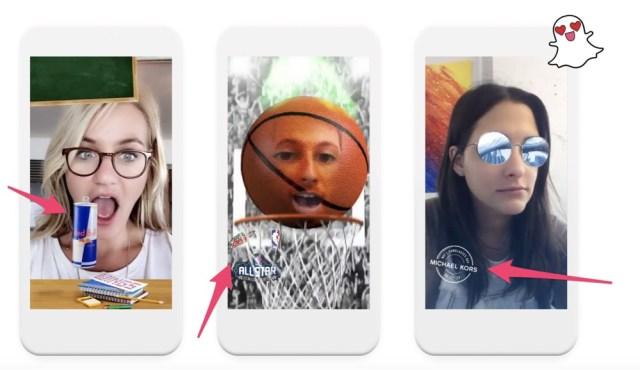 sponsored snapchat lenses
