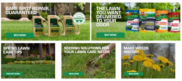 scotts lawn care products