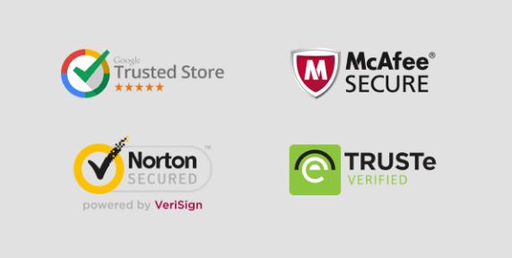 trust symbols for websites