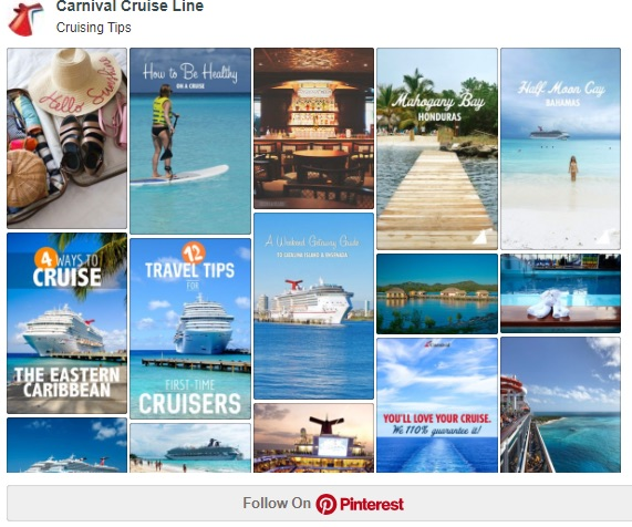 carnival cruise lines pinterest