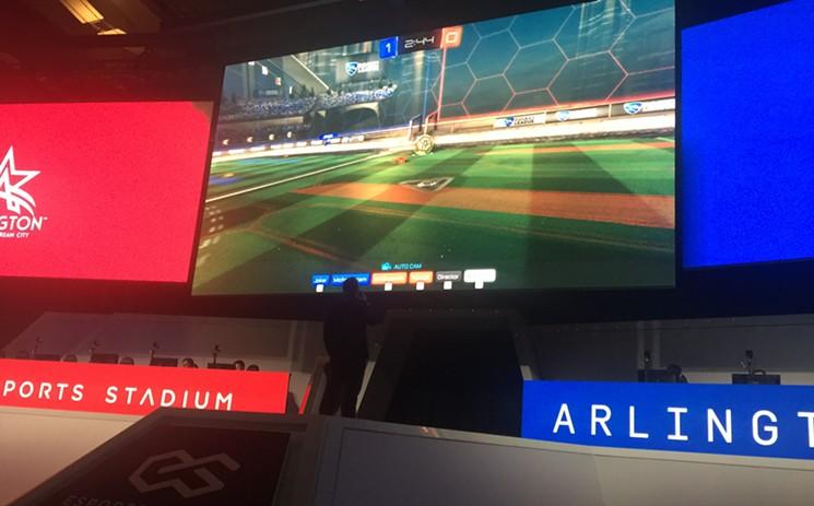 Arlington Esports Stadium digital signage - Kitcast Blog