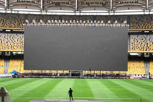 Giant LED screen at the National Stadium in Bukit Jalil, Malaysia - Kitcast Blog