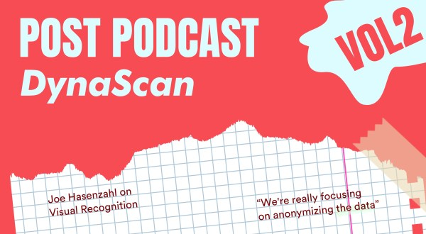 """We're really focusing on anonymizing the data"": Joe Hasenzahl on visual recognition - Kitcast Blog"