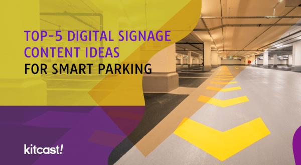 parking digital signage