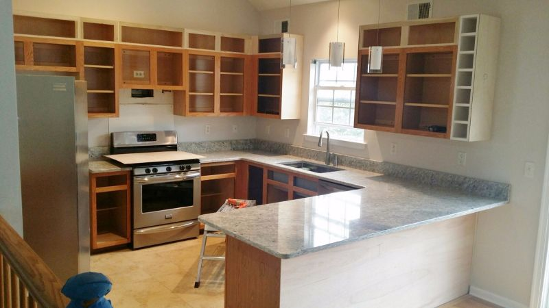 Whatever your kitchen countertop dimensions, your options for surface materials are many and varied. The Risks Of Replacing Your Countertop Before Your Cabinets