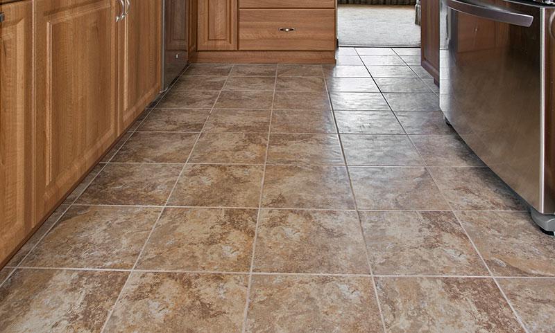 my kitchen floor before refacing