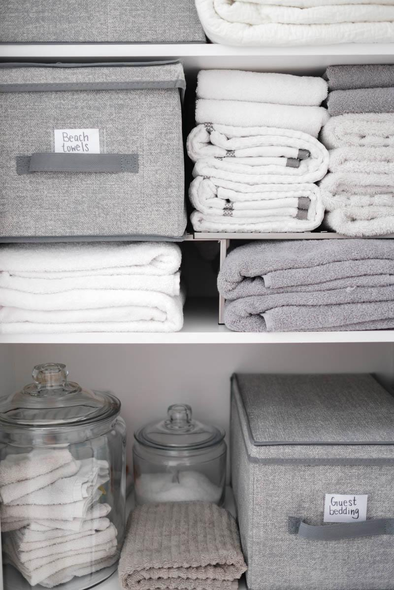 Linen Closet Organizing Hacks You Need To Know