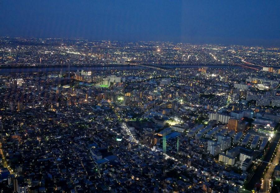 東京晴空塔夜景