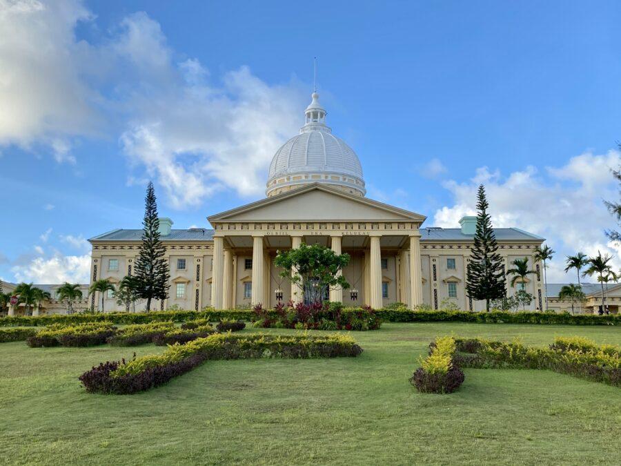 帛琉小白宮
