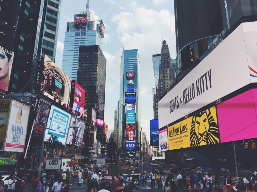 US New York 時代廣場 Times Square Cbossfight 1