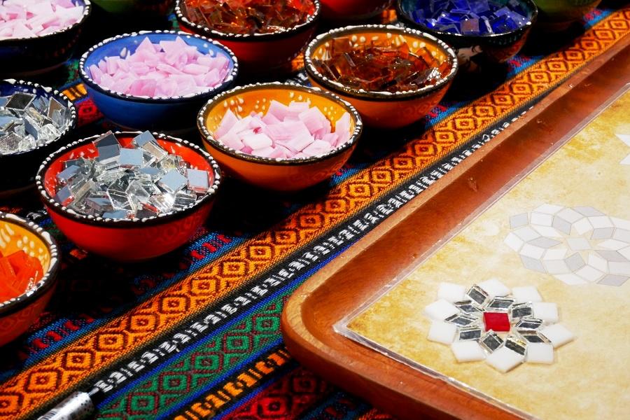 土耳其馬賽克燈/台北DIY手作/Mosaic Art Studio