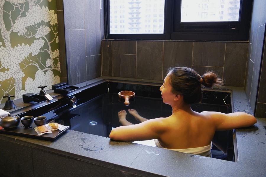 台北溫泉推薦甲山林湯旅:日式湯屋