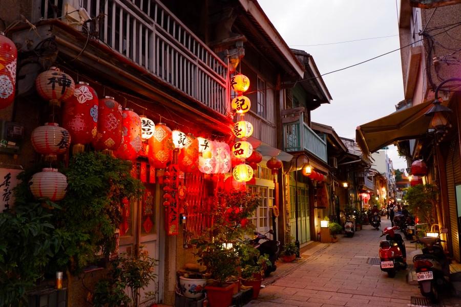 台南景點:神農街