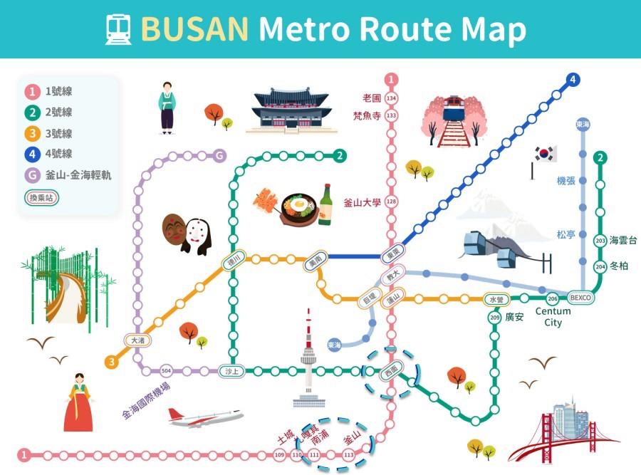 batch 釜山地鐵圖 2
