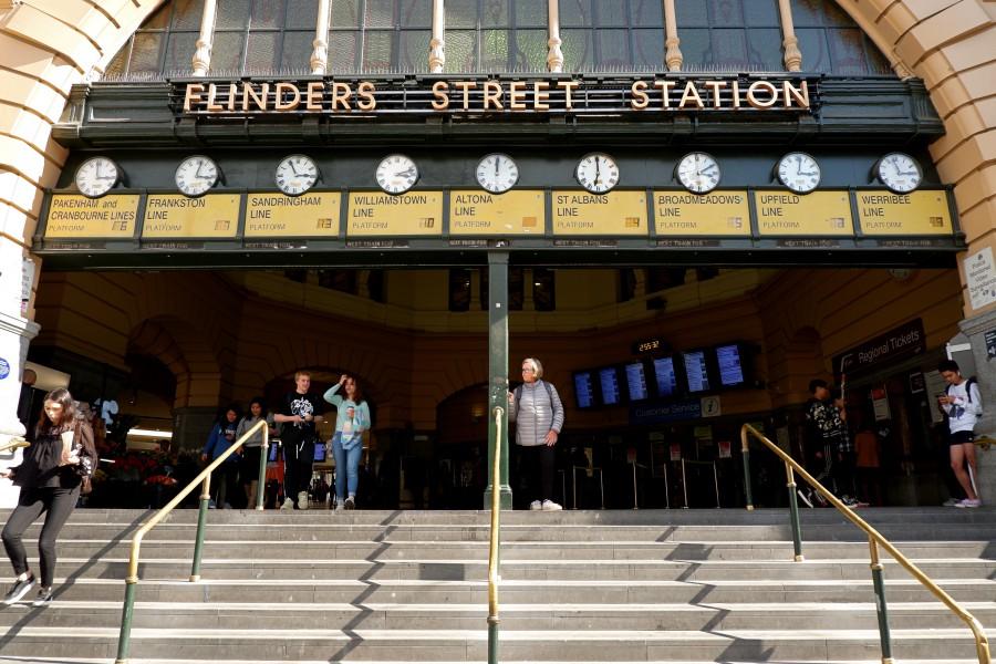 墨爾本交通/弗林德斯街車站/Finders