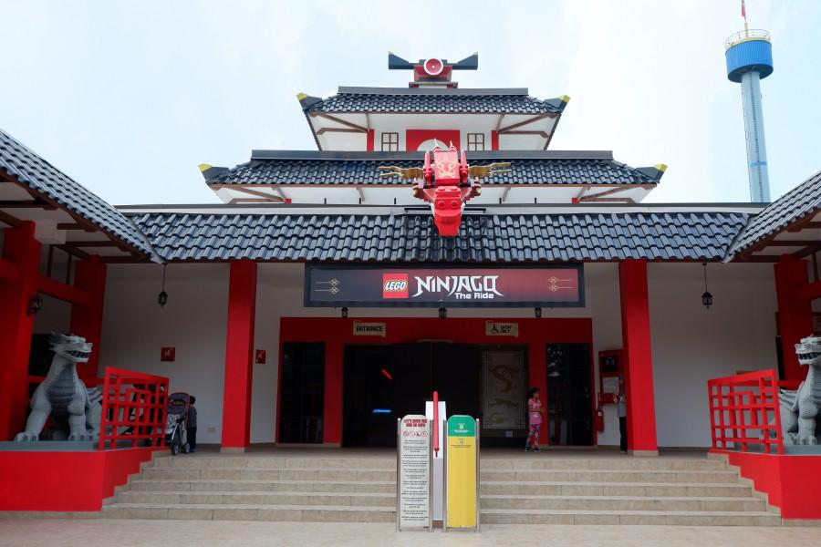 馬來西亞樂高樂園 忍者