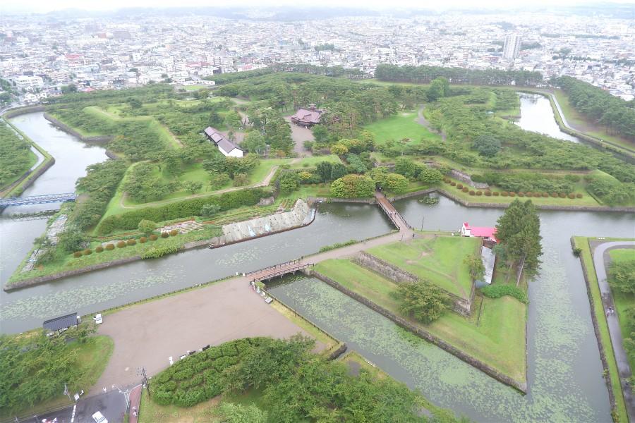 北海道自由行 函館五稜郭公園