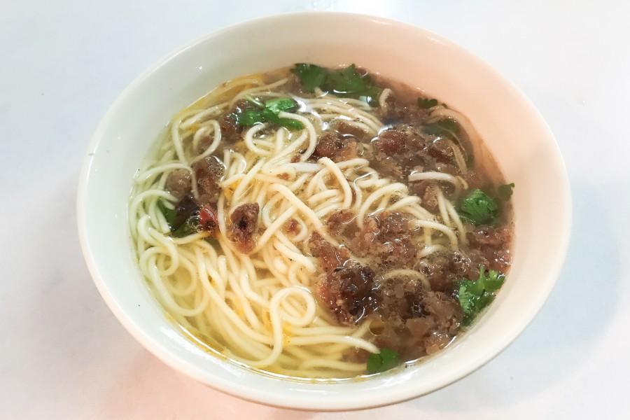 大稻埕美食:永樂擔仔麵