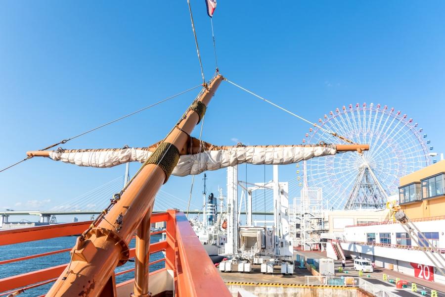 大阪自由行景點 聖瑪麗亞號 大阪港