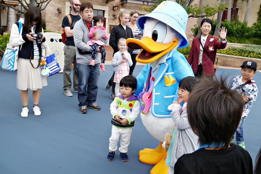 東京迪士尼海洋 角色合照