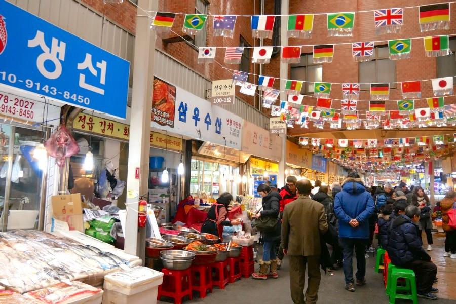 首爾自由行必去:廣藏市場
