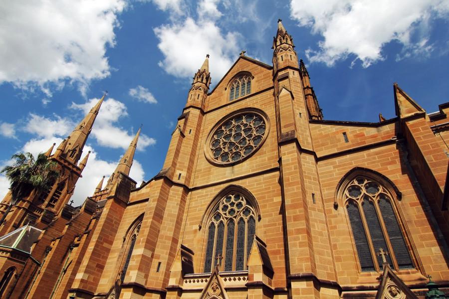 batch Australia Sydney St. Mary's Cathedral Ashutterstock 412412731