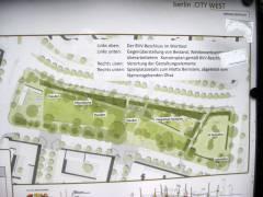 Überarbeitete Fassung (2016) des Siegerentwurfes von 2011 zur Umgestaltung des Olivaer Platzes