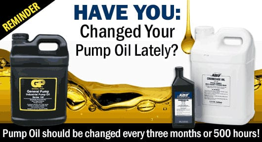 Oil change reminder