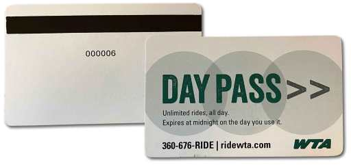 Day Pass Cards
