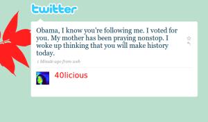 Der erste Twitter Präsident der Welt