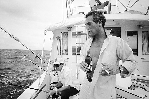 Paul Newman Actor Race Car Driver Style Icon Knot